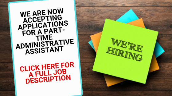 Now Hiring Part Time Administrative Assistant